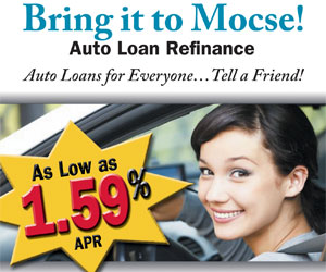 Bring it to MOCSE! Auto Loan Refinance
