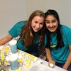 Abbey Murphy and RitaS Sandhu at the Stone Soup Dinner