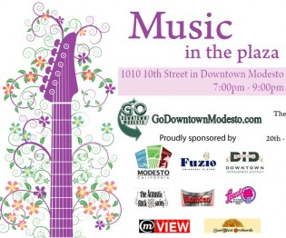 June Music in the Plaza