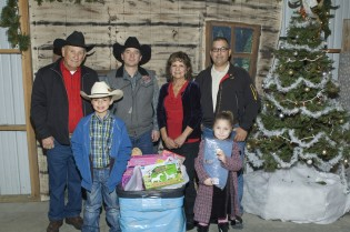 Oakdale Saddle Cub Members Gather Donations