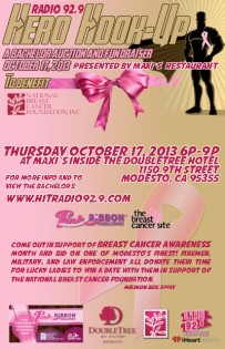Radio 92.9 Supports Breast Cancer Research-Local Bachelor Auction Fundraiser!