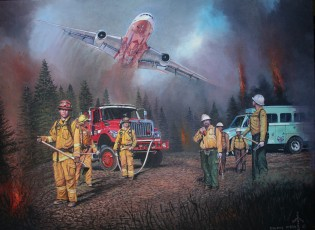 2013 Rim Fire Painting Release & Signing Nov 30