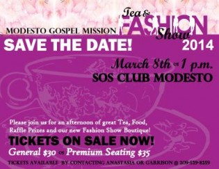 Modesto Gospel Mission Tea & Fashion Show