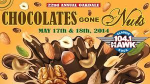 Oakdale Choclate Fest Sat & Sun