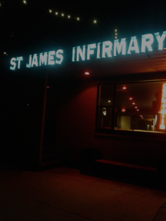 First stop St.James Infirmary