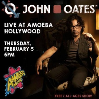 John Oates in Hollywood