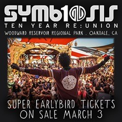 The Symbiosis Gathering 2015 is returning to Woodward Reservoir