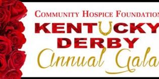Community Hospice Foundation Annual Gala, Kentucky Derby
