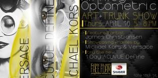 Hinkley Optometric Trunk Show April 16