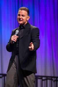 Dan St. Paul on stage