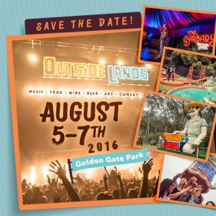 OutsideLands Dates Released