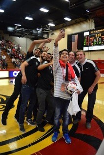 Make-A-Wish Reveals a Wish at Stanislaus Athletics Game