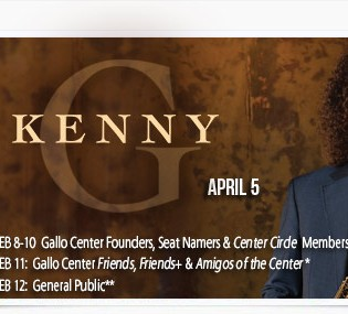 Kenny G Coming to Gallo Center