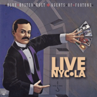 Blue Oyster Cult Agents of Fortune Live