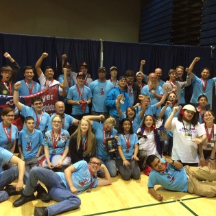 Beyer Iron Patriots Go to Robotics Nationals