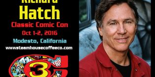 Steam House Coffee Brews Special Blend of Family-Friendly Entertainment in Modesto this October with Classic Comic Con 2016