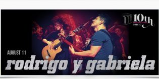 Exciting News!  Rodrigo y Gabriela Show Added!
