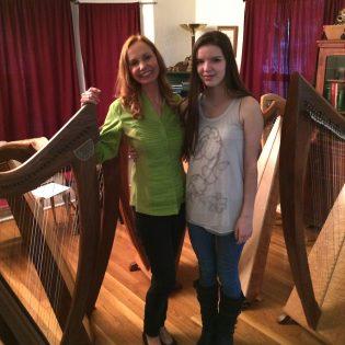 Meet a Young Harpist- Tess Kara