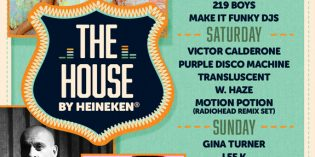 SF Outsidelands – The House by Heineken Lineup Announced
