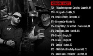 Moonshine Bandits on Tour