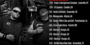 Moonshine Bandits on Tour