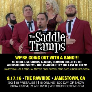 Last show Saddle Tramps