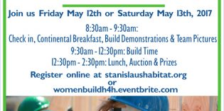 Habitat for Humanity Stanislaus and Lowe's team up for 10th annual National Women Build Week