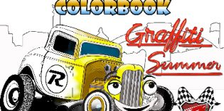 Graffiti Fun Coloring Book -FREE