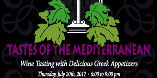 July 20 Tastes of Mediterranean