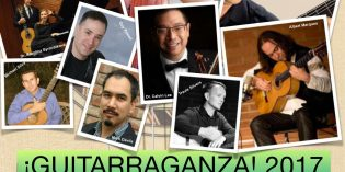 Guitarraganza is Coming to MJC – Oct 17