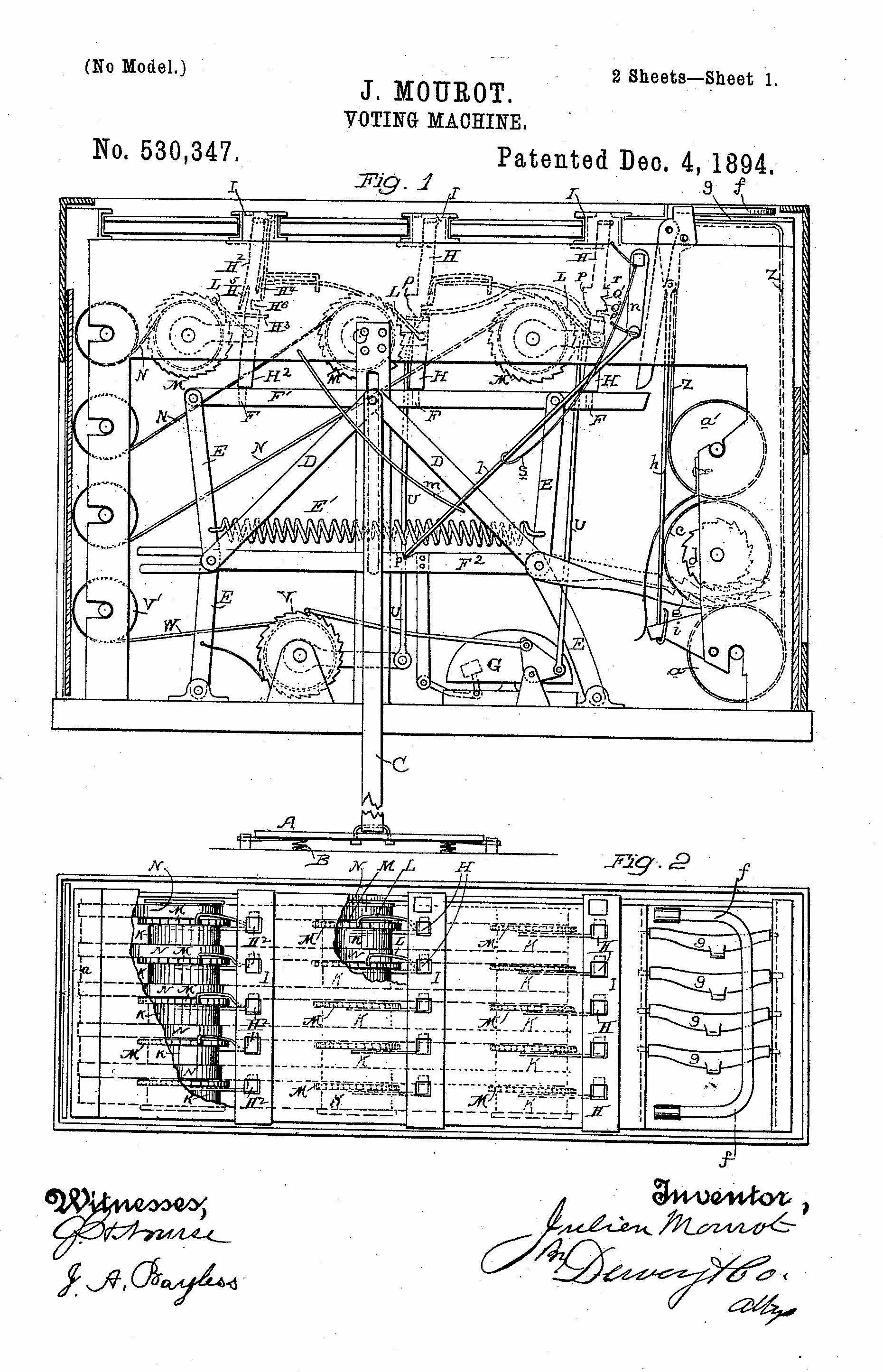 Design view modestan pioneers mechanical voting modestoview designview ccuart Gallery