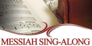 Sing a Long Messiah – November 19