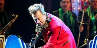 Brian Setzer's Christmas Show Rocked This Town