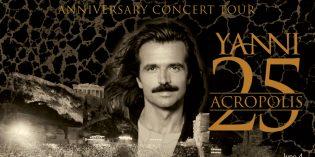 Yanni Coming to the Gallo Center – June 4