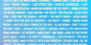BottleRock Line Up and Tickets Announced