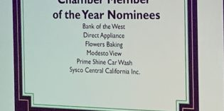 Thank you Modesto Chamber of Commerce