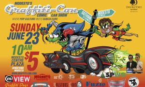 GeekView: Graffiti-Con 2 the Electric Boogaloo
