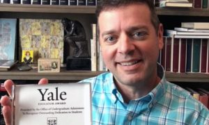 Beyer High School Teacher Receives 2020 Yale Educator Award